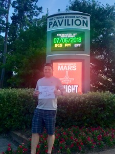 Richard attended Thirty Seconds to Mars on Jul 6th 2018 via VetTix