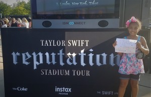Christian attended Taylor Swift Reputation Stadium Tour on Jul 13th 2018 via VetTix