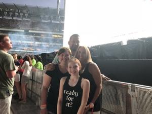 Pablo attended Taylor Swift Reputation Stadium Tour on Jul 13th 2018 via VetTix