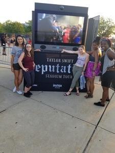 Janna attended Taylor Swift Reputation Stadium Tour on Jul 13th 2018 via VetTix