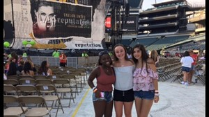 Rocco attended Taylor Swift Reputation Stadium Tour on Jul 13th 2018 via VetTix