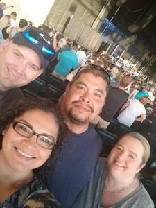 America Mauldin, SSgt attended Chicago / Reo Speedwagon on Jun 29th 2018 via VetTix