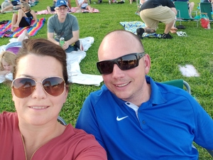 Kevin attended Chicago / Reo Speedwagon on Jun 29th 2018 via VetTix