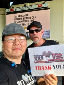 Seung attended Chicago / Reo Speedwagon on Jun 29th 2018 via VetTix
