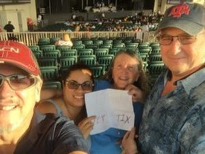 robert attended Chicago / Reo Speedwagon on Jun 29th 2018 via VetTix