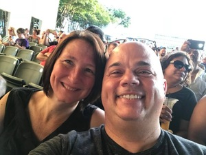 Shannon attended Chicago / Reo Speedwagon on Jun 29th 2018 via VetTix