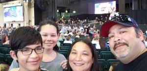 Melanie attended Chicago / Reo Speedwagon on Jun 29th 2018 via VetTix
