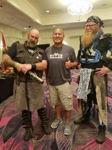 Jose attended Combatcon 2018 on Aug 3rd 2018 via VetTix