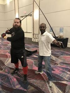 Eric attended Combatcon 2018 on Aug 3rd 2018 via VetTix