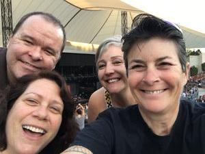 Simone attended Counting Crows With Special Guest +live+: 25 Years and Counting - Lawn Seats on Jul 6th 2018 via VetTix