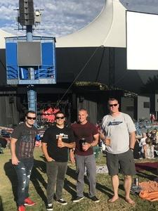 Adam attended Counting Crows With Special Guest +live+: 25 Years and Counting - Lawn Seats on Jul 6th 2018 via VetTix