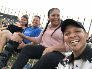 Bridget attended Counting Crows With Special Guest +live+: 25 Years and Counting - Lawn Seats on Jul 6th 2018 via VetTix