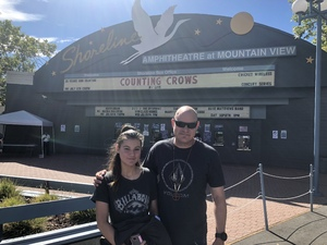 Jamie attended Counting Crows With Special Guest +live+: 25 Years and Counting - Lawn Seats on Jul 6th 2018 via VetTix