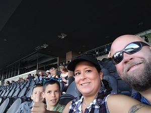 Sara attended Kenny Chesney: Trip Around the Sun Tour With Old Dominion on Jul 7th 2018 via VetTix