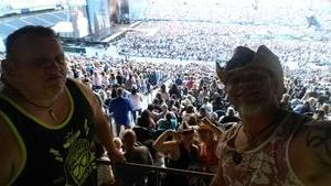 Tracy attended Kenny Chesney: Trip Around the Sun Tour With Old Dominion on Jul 7th 2018 via VetTix