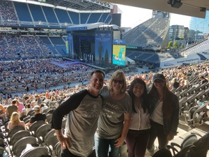 Dean attended Kenny Chesney: Trip Around the Sun Tour With Old Dominion on Jul 7th 2018 via VetTix