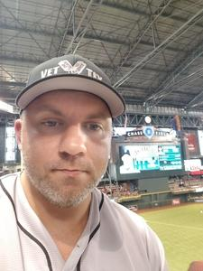 William attended Arizona Diamondbacks vs. San Francisco Giants - MLB on Jul 1st 2018 via VetTix