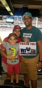 Alysea attended Arizona Diamondbacks vs. San Francisco Giants - MLB on Jul 1st 2018 via VetTix