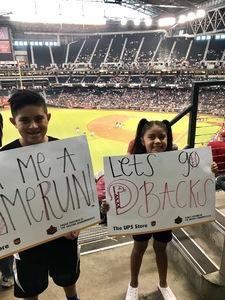 Sahib attended Arizona Diamondbacks vs. San Francisco Giants - MLB on Jul 1st 2018 via VetTix