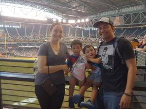 Cesar attended Arizona Diamondbacks vs. San Francisco Giants - MLB on Jul 1st 2018 via VetTix