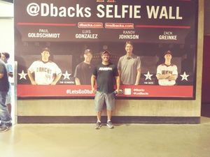 Carlos attended Arizona Diamondbacks vs. San Francisco Giants - MLB on Jul 1st 2018 via VetTix