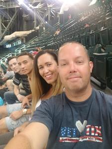 Larry attended Arizona Diamondbacks vs. San Francisco Giants - MLB on Jul 1st 2018 via VetTix