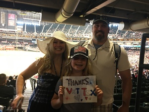 Chuck attended Arizona Diamondbacks vs. San Francisco Giants - MLB on Jul 1st 2018 via VetTix