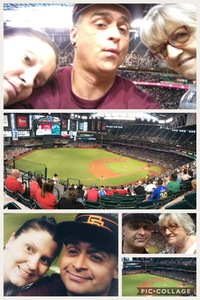 Lorelei attended Arizona Diamondbacks vs. San Francisco Giants - MLB on Jul 1st 2018 via VetTix