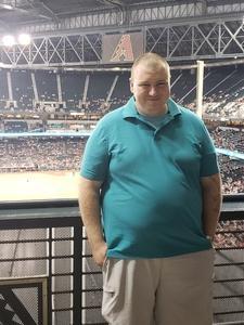 Zachary attended Arizona Diamondbacks vs. San Diego Padres - MLB on Jul 5th 2018 via VetTix