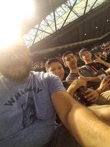 Joel attended Arizona Diamondbacks vs. San Diego Padres - MLB on Jul 5th 2018 via VetTix