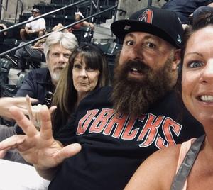 Steph attended Arizona Diamondbacks vs. San Diego Padres - MLB on Jul 5th 2018 via VetTix