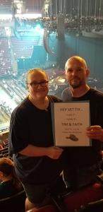 W. Keizer attended Tim McGraw & Faith Hill Soul2Soul the World Tour 2018 - Country on Jul 13th 2018 via VetTix