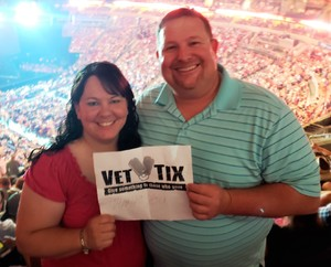 Flynn attended Tim McGraw & Faith Hill Soul2Soul the World Tour 2018 - Country on Jul 13th 2018 via VetTix
