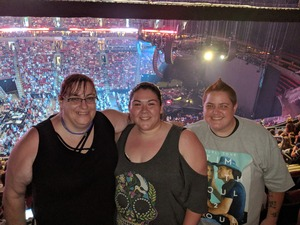 Kimberly attended Tim McGraw & Faith Hill Soul2Soul the World Tour 2018 - Country on Jul 13th 2018 via VetTix