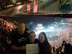 Peter attended Tim McGraw & Faith Hill Soul2Soul the World Tour 2018 - Country on Jul 13th 2018 via VetTix