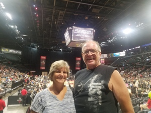Lee attended Hoops for Troops - Las Vegas Aces. Vs. Chicago Sky - WNBA on Jul 5th 2018 via VetTix
