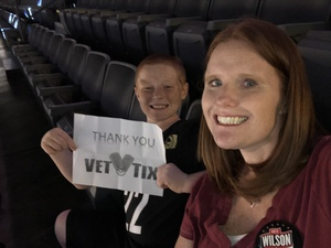 Martin attended Hoops for Troops - Las Vegas Aces. Vs. Chicago Sky - WNBA on Jul 5th 2018 via VetTix