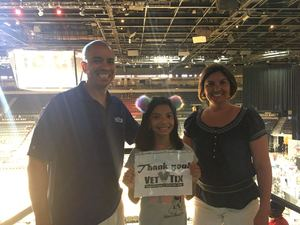 Anthony attended Hoops for Troops - Las Vegas Aces. Vs. Chicago Sky - WNBA on Jul 5th 2018 via VetTix