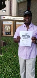 Andre attended Alabama Story by Kenneth Jones on Jul 14th 2018 via VetTix