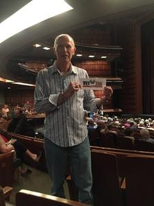 Jeff of Scottsdale attended The Musical: 42nd Street - Friday on Jul 6th 2018 via VetTix