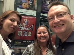 John attended The Musical: 42nd Street - Friday on Jul 6th 2018 via VetTix