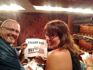 Walter attended The Musical: 42nd Street - Friday on Jul 6th 2018 via VetTix