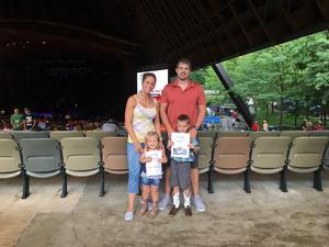 Melissa attended Brad Paisley on Jul 5th 2018 via VetTix