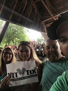 Christopher attended Brad Paisley on Jul 5th 2018 via VetTix