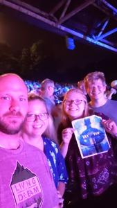 Kelli attended Brad Paisley on Jul 5th 2018 via VetTix