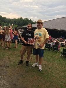 Robert attended Brad Paisley on Jul 5th 2018 via VetTix