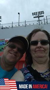 Doug attended Coca-cola Firecracker 250 at Daytona on Jul 6th 2018 via VetTix
