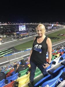 Arthur attended Coca-cola Firecracker 250 at Daytona on Jul 6th 2018 via VetTix