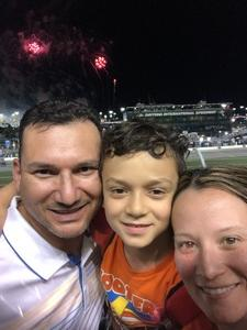 Jose attended Coca-cola Firecracker 250 at Daytona on Jul 6th 2018 via VetTix