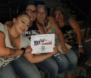 Andrea attended Tim McGraw & Faith Hill Soul2Soul the World Tour 2018 - Country on Jul 14th 2018 via VetTix